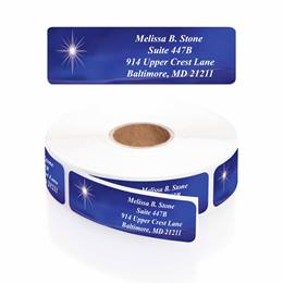 Miraculous News Designer Rolled Address Labels