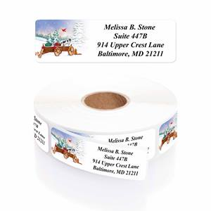 Creature Comforts Designer Rolled Address Labels