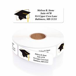Tassel Tactics Designer Rolled Address Labels