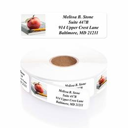 An Apple A Day Designer Rolled Address Labels