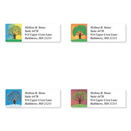Four Seasons Sheeted Address Label Assortment
