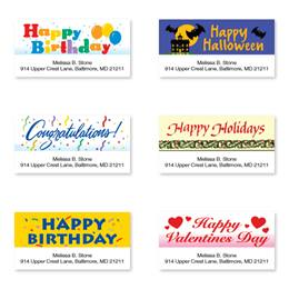 Special Occasion Sheeted Address Label Assortment