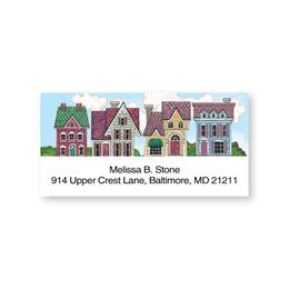 Victorian Homes Sheeted Address Labels