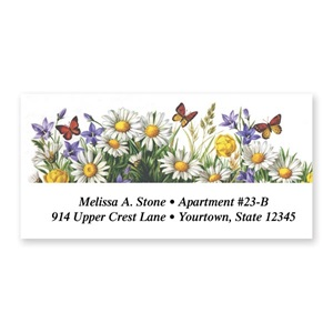 Daisies Sheeted Address Labels