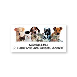 Pet Pals Sheeted Address Labels