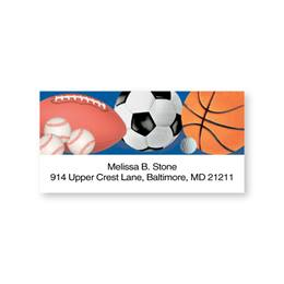 All Sports Sheeted Address Labels