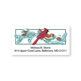 Cardinals Sheeted Address Labels