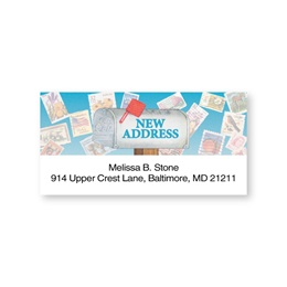 Just Moved Sheeted Address Labels