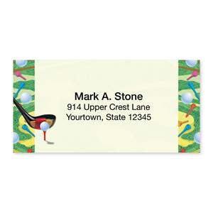 Golf Sheeted Address Labels