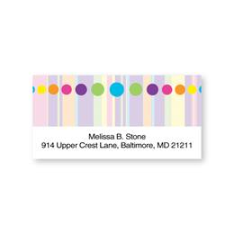 Bright and Fun Sheeted Address Labels