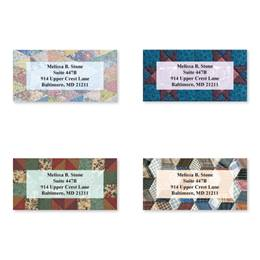 Quilts Sheeted Address Label Assortment