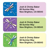 Dragonflies Sheeted Address Label Assortment