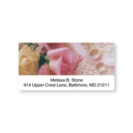 With This Ring Sheeted Address Labels