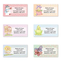 Seasonal Sheeted Address Label Assortment