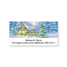Country Cottage Sheeted Address Labels