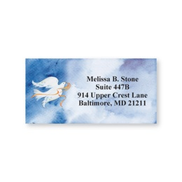 Peace Dove Sheeted Address Labels
