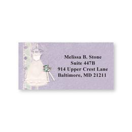I Thee Wed Sheeted Address Labels
