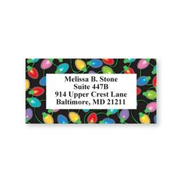 Lights Sheeted Address Labels