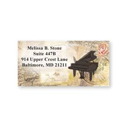 Sweet Melody Sheeted Address Labels