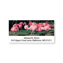 Flamingo Sheeted Address Labels