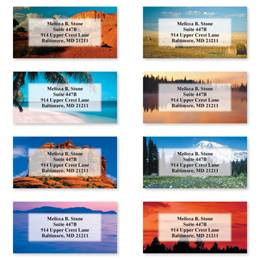 American Landscape Sheeted Address Label Assortment