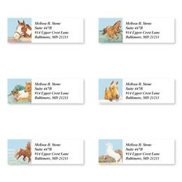 Equine Sheeted Address Label Assortment