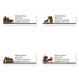 Country Lodge Sheeted Address Label Assortment