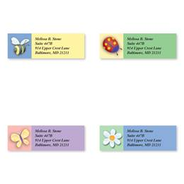 Whimsical Sheeted Address Label Assortment