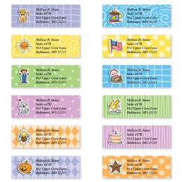 Everyday Doo Dads Sheeted Address Label Assortment