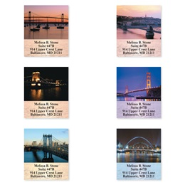 Elegant Bridges Sheeted Address Label Assortment