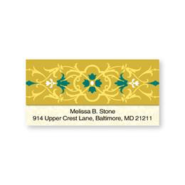 Versailles Sheeted Address Labels