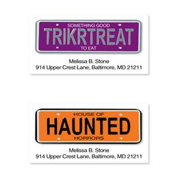 Trick or Treat Sheeted Address Label Assortment