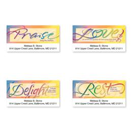 Faithful Words Sheeted Address Label Assortment