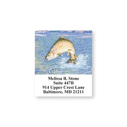 Fishing Lure Sheeted Address Labels