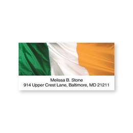 Ireland Flag Sheeted Address Labels