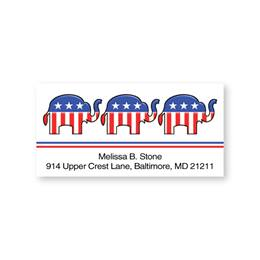 Republican Sheeted Address Labels