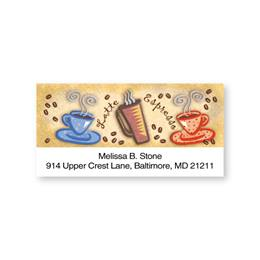 Cafe Ole Sheeted Address Labels