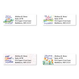 Verses Of Virtue Sheeted Address Label Assortment