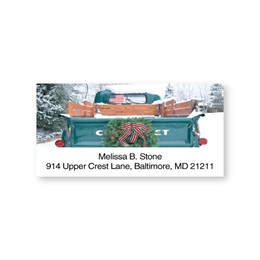 Pick Up Truck Sheeted Address Labels