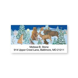 Peaceful Forest Sheeted Address Labels