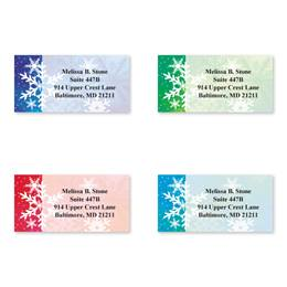 Snowflake Dreams Sheeted Address Label Assortment