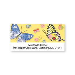 Butterfly Sheeted Address Labels