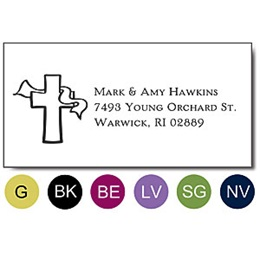 Classic Symbol Sophisticated Sheeted Address Labels