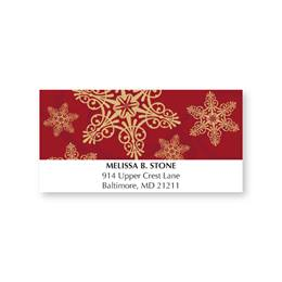 Heavenly King Holiday Address Labels