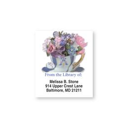 Tea And Posies Bookplates