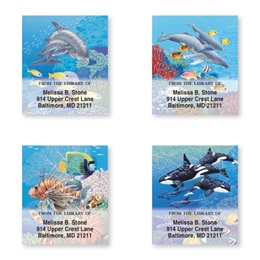 Sea Life Bookplate Assortment