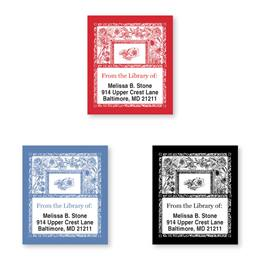 Toile Bookplate Assortment
