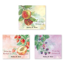 Fruit Impressions Personalized Canning Label Value Pack