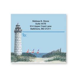Lighthouse Personalized Shipping Labels