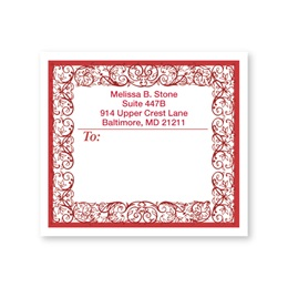 Toile Personalized Shipping Labels